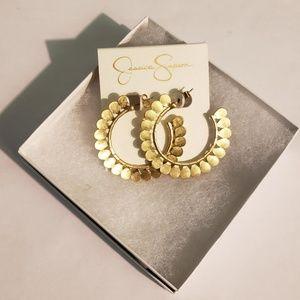 Jessica Simpson Gold Earrings